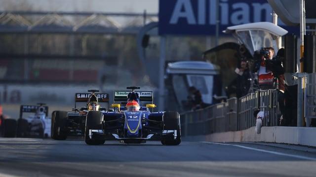 Felipe Nasr im Sauber