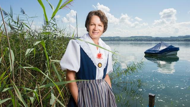 Video ««SRF bi de Lüt – Landfrauenküche» (7): Anni Simonet, Môtier» abspielen