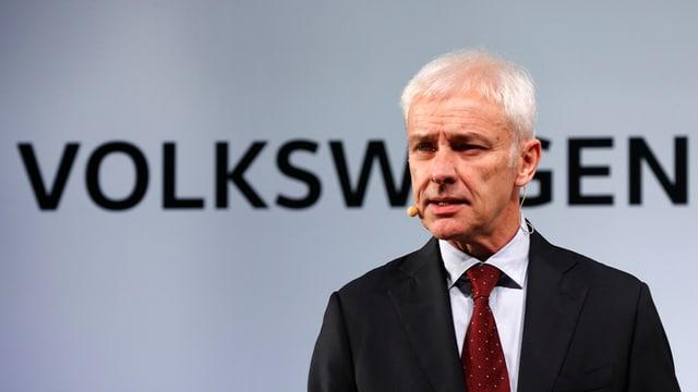 Il schef da VW Matthias Müller.