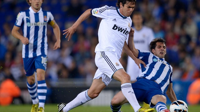 Nur Remis für Reals Kaka und Co. bei Espanyol Barcelona