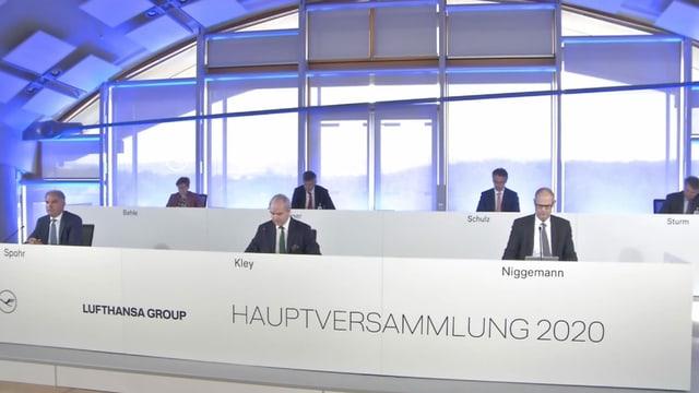 Lufthansa Hauptversammlung
