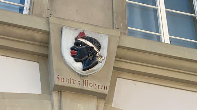 Das Wappen der Zunft sorgt für viel Kritik.