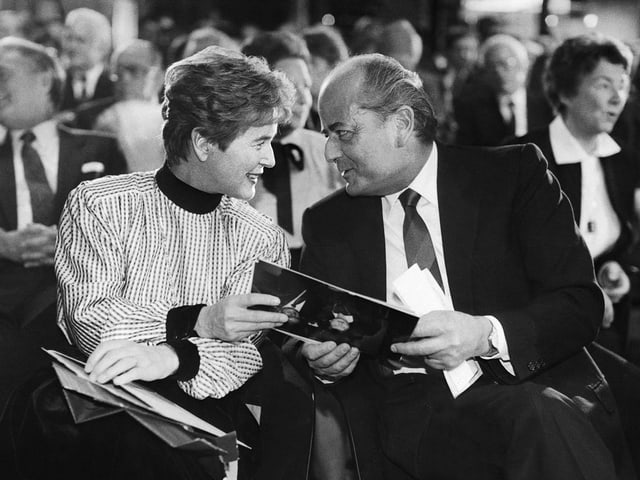 Das Ehepaar Elisabeth und Hans W. Kopp