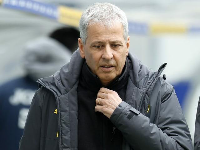 Dortmund-Trainer Lucien Favre.