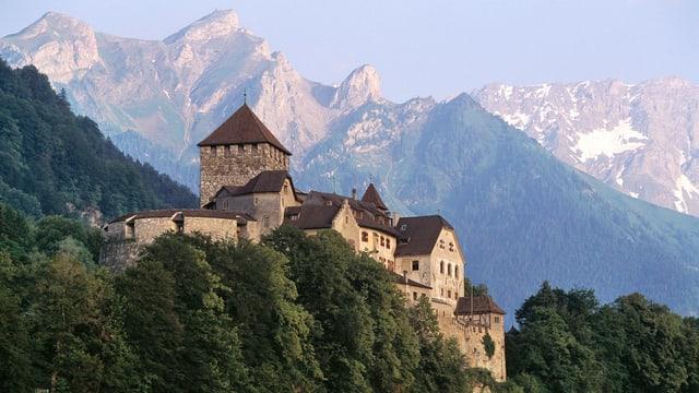 Schloss in Vaduz.
