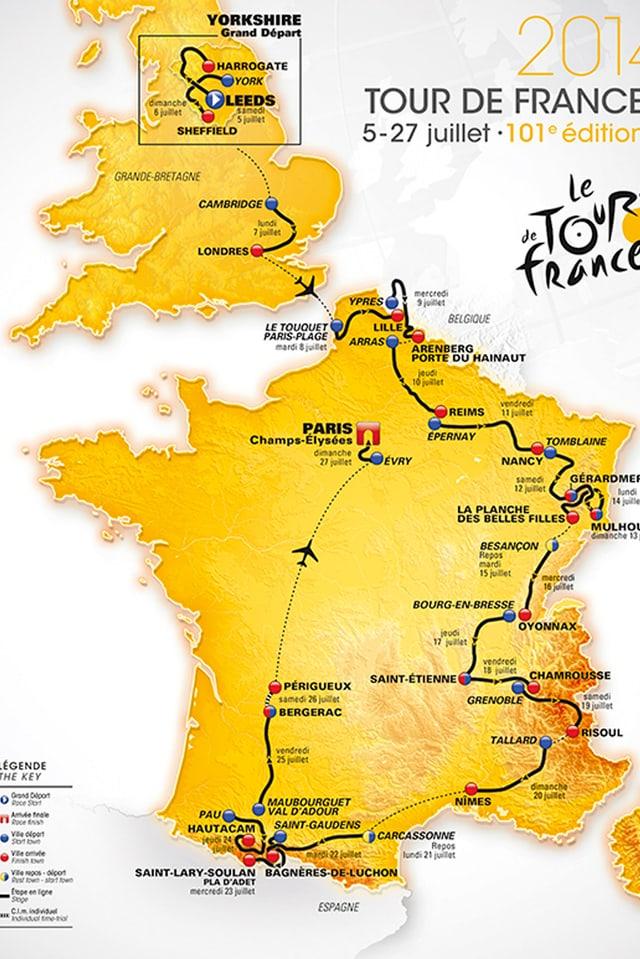 Die Tour de France 2014