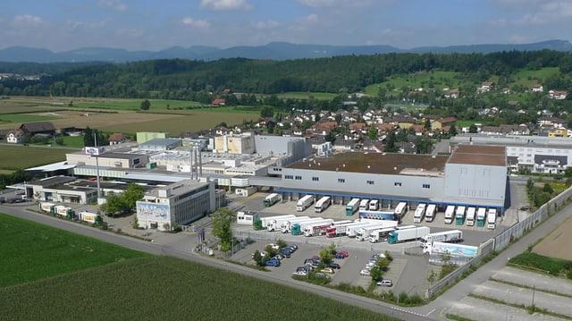 Firmengelände Mittelland Molkerei