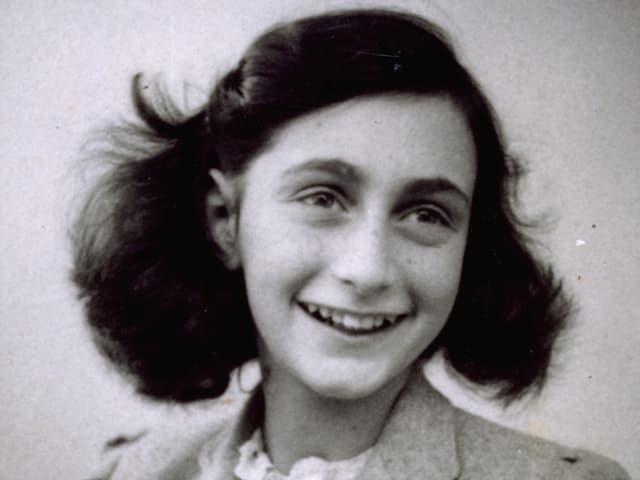 Anne Frank (historische Aufnahme).