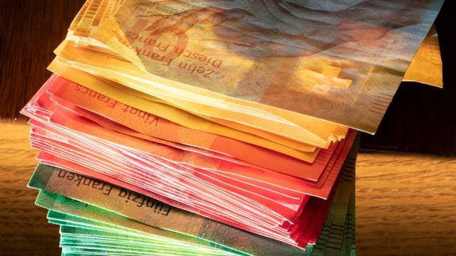 Stapel Banknoten