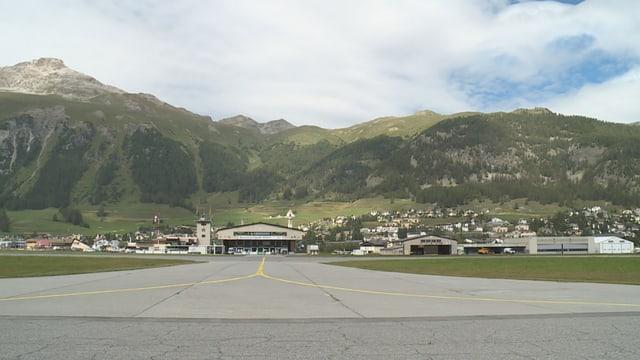 Plazza aviatica Samedan.