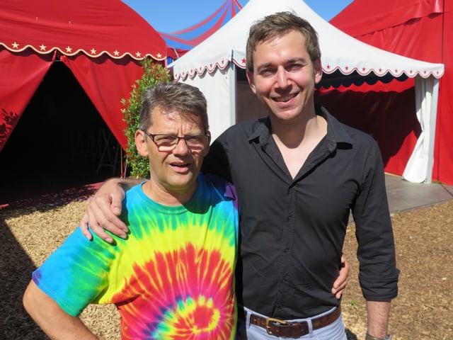 Chris Dehler und David Lang.