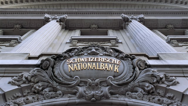 Vista sin il logo da la Banca naziunala svizra.