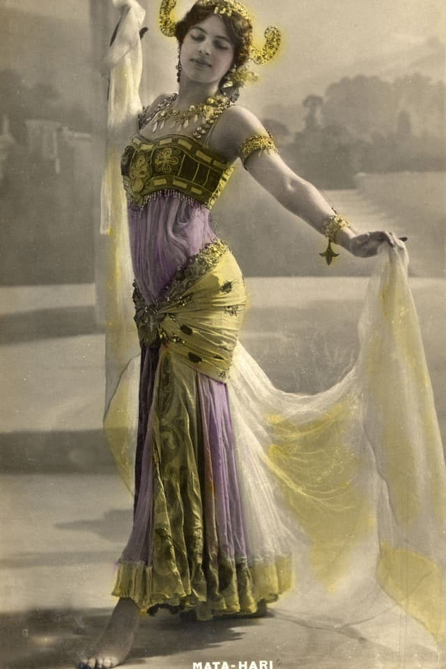 Porträt Mata Hari
