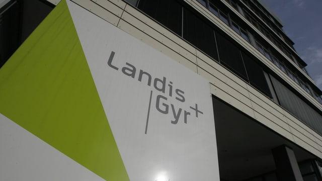 Logo Landis+Gyr.