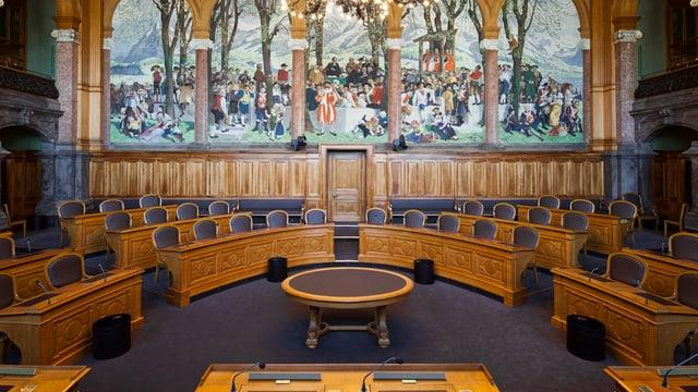 Ein Sitz im Ständeratssaal im Bundeshaus ist bei den Luzerner Parteien begehrt.