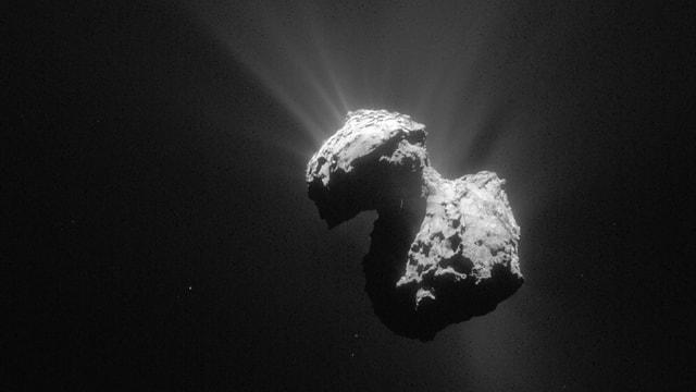 Der Komet Tschuri abgelichtet von der Raumsonde Rosetta