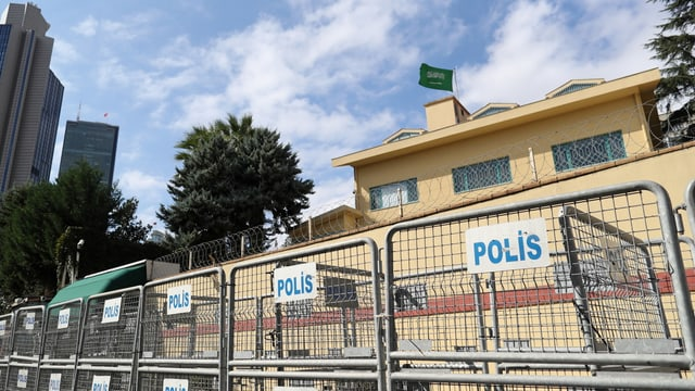Die saudische Botschaft in Istanbul