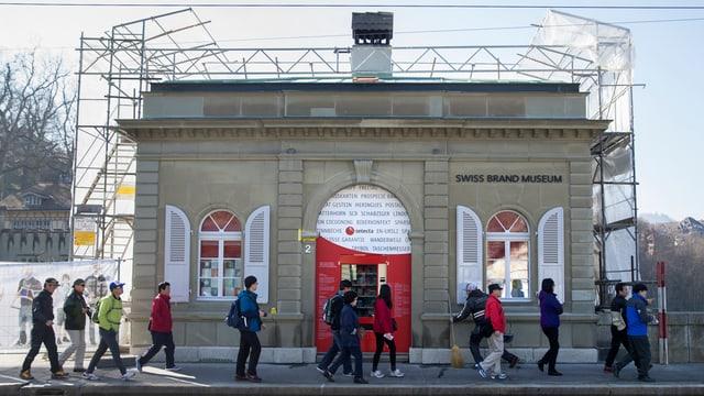 Bild des ehemaligen Schweizer Markenmuseums