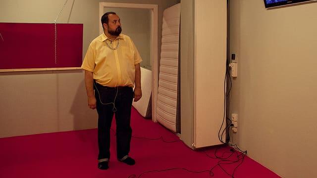 Andreas Storm, Schauspieler im Stück «Striche durch Rechnungen»