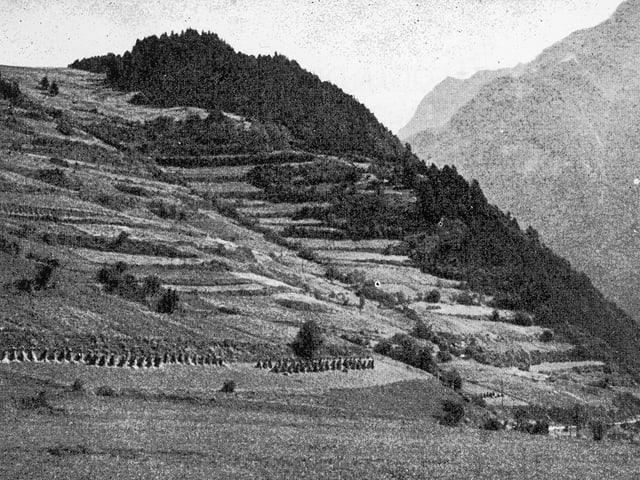 Ramosch - La collina da Motata, lieu da fortificaziun preistorica