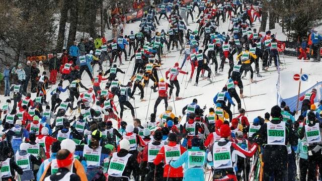 Engadiner Skimarathon im Jahr 2011