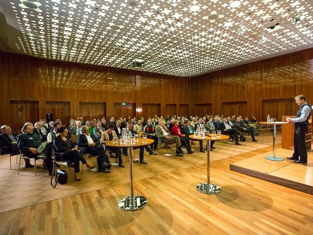 Sicht ins Publikum am Medienforum