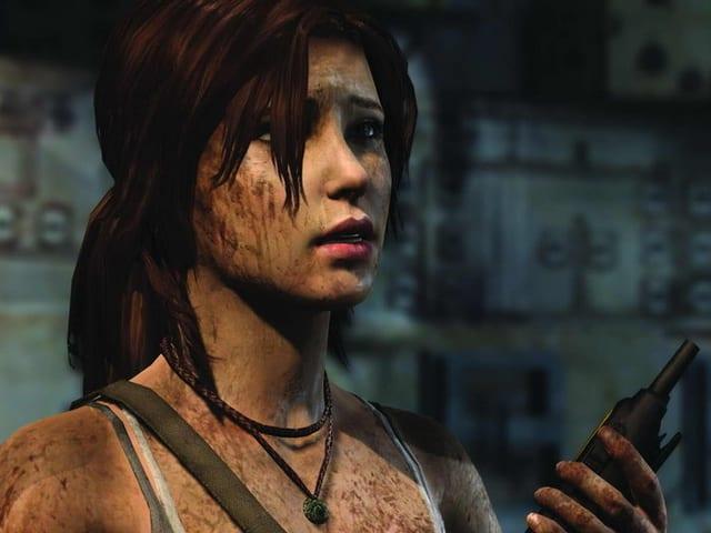 Ein Screenshot des Games «Tomb Raider» zeigt die Hauptfigur Lara Croft.