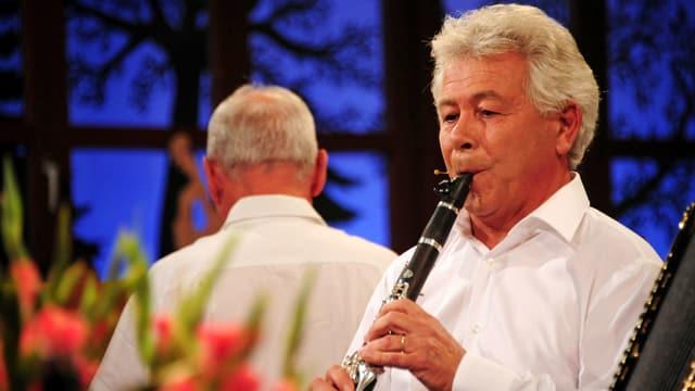 Video «Facettenreicher Bündner Klarinettist: Josias Just» abspielen
