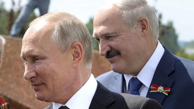 Waldimir Putin und Alexander Lukaschenko
