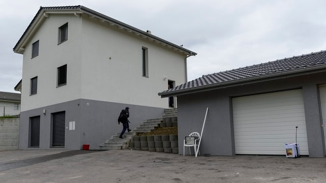 Tatort in Frasses (FR)