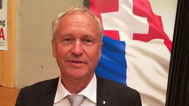 Der 58-jährige Paul Winiker wurde an der Delegiertenversammlung in Dagmersellen einstimmig nominiert.