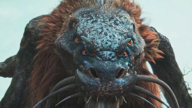 Ein Monster aus dem Film.