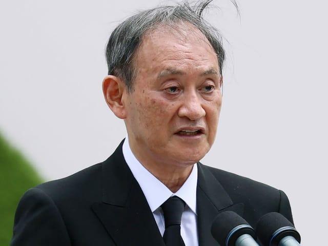 Japans Premier Suga.