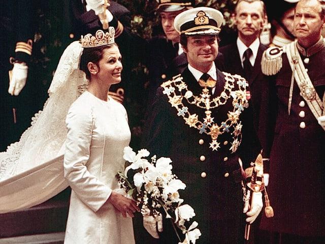 Hochzeit Carl Gustaf und Silvia Sommerlath