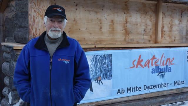 Giorgio Bossi, il president da la Skateline Alvra.
