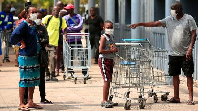 Simbabwe unter dem Shutdown