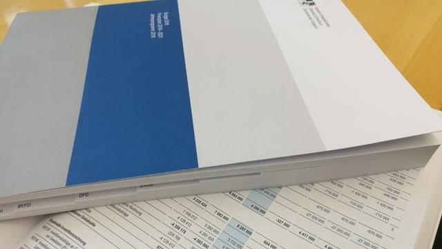 Il maletg mussa il rapport da passa 300 paginas.