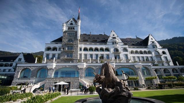 Il Park Hotel a Vitznau.