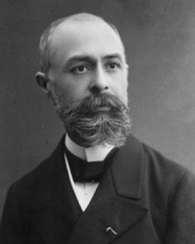 Portrait des Physikers Antoine-Henri Becquerel.