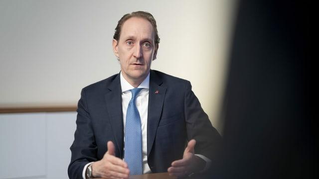 Dieter Vranckx ist der Chef der Swiss