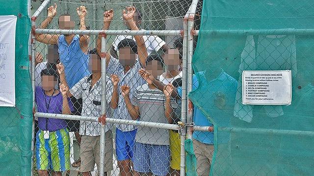 Flüchtlinge in Manus.