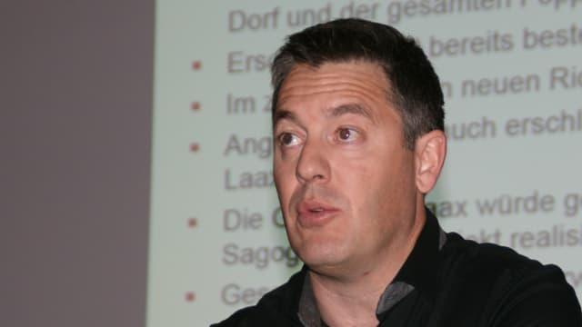 Il president Hans Peter Casutt