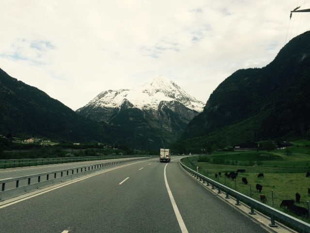 Vor dem Gotthard