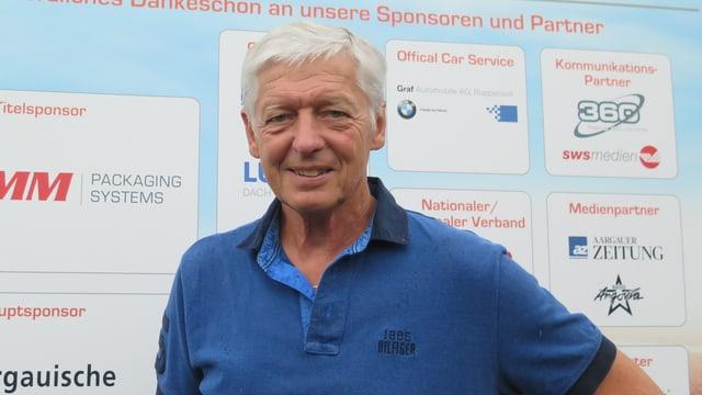 Turnierdirektor und Ex-Tennisprofi Freddy Blatter