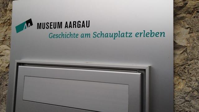 Briefkasten von Museum Aargau