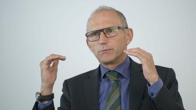Auto-Schweiz-Direktor Andreas Burgener: