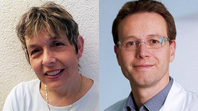 Ernährungsberaterin Beatrice Conrad und Dr. Philippe Beissner
