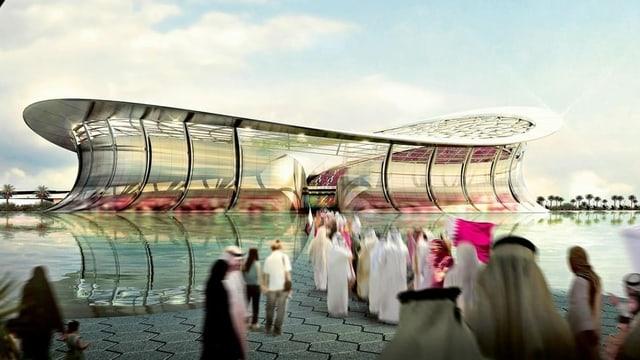 Im Lusail-Stadion findet das WM-Endspiel 2022 statt.