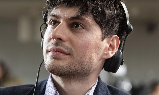 Luzian Franzini, Co-Präsident der jungen Grünen.