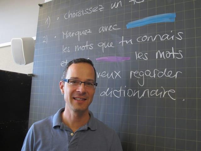 Philippe von Escher: «Die Schülerinnen und Schüler haben grosse Lücken.»